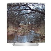 Rivers Bend Shower Curtain