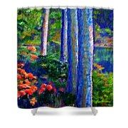 Rivers Edge Shower Curtain