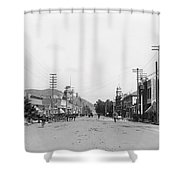Riverside California C. 1900 Shower Curtain