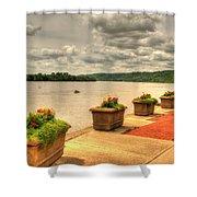 Riverside Walk Shower Curtain