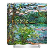 Riverview Spring Stage One Shower Curtain