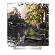 Riverwalk Iv Shower Curtain