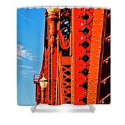 Riveting Image Shower Curtain