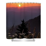 Rize And Shine. Shower Curtain
