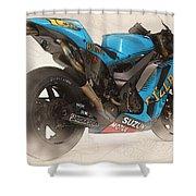 Rizla Suzuki Gsv - R Shower Curtain