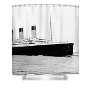 Rms Titanic Shower Curtain