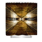 Road By Night Shower Curtain