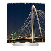Road Into The City Shower Curtain