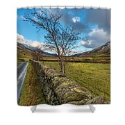 Road Less Travelled Shower Curtain