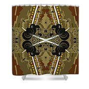 Road Map Shower Curtain