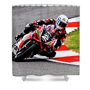 Road Racer - No. 2 Shower Curtain