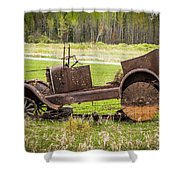 Road Side Art II Shower Curtain