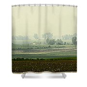 Road To Baggend Shower Curtain