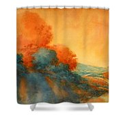 Road To Bandera Shower Curtain
