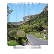 Road To Benbulben County Leitrim Ireland Shower Curtain