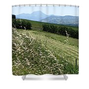 Road To Cingoli Shower Curtain