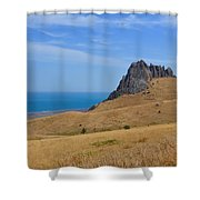Road To Crag Shower Curtain