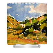 Road To Duck Creek Shower Curtain