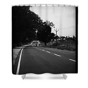 Road To Eternity Shower Curtain
