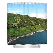 Road To Hana Shower Curtain