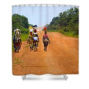 Road To Home Shower Curtain