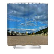 Road To Majesty  Shower Curtain