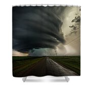 Road To Mesocyclone Shower Curtain