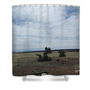 Road To More Desert Shower Curtain
