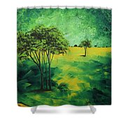 Road To Nowhere 1 By Madart Shower Curtain