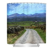 Road To Paradise Shower Curtain