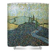 Road To Tuscany Shower Curtain