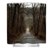 Road To Wildlife Shower Curtain