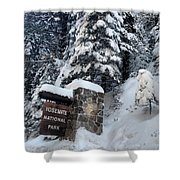 Road To Yosemite National Park Shower Curtain