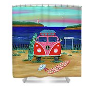 Road Trip No. 1 Shower Curtain