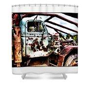 Road Warrior Shower Curtain