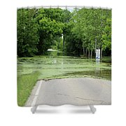 Road What Road Shower Curtain