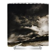 Roads Of Atmosphere  Shower Curtain
