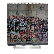Roadside Shower Curtain