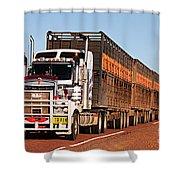 Roadtrain Shower Curtain