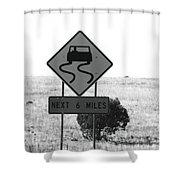 Roadtrip 7 Shower Curtain