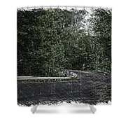 Roadway Fingers Lakes New York Area Pa 02 Shower Curtain