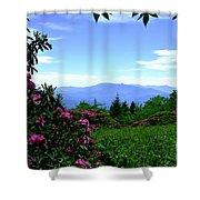 Roan Mountain Rhododendron Gardens Shower Curtain