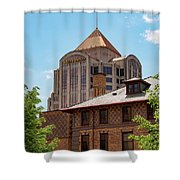 Roanoke Architecture Shower Curtain
