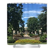 Roanoke College Shower Curtain