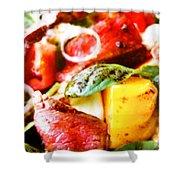 Roat Beef Shower Curtain
