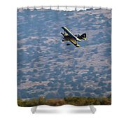 Rob Caster In Miss Diane, Friday Morning 16x9 Aspect Shower Curtain