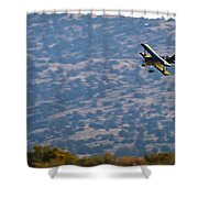 Rob Caster In Miss Diane, Friday Morning 16x9 Aspect Signature Edition Shower Curtain