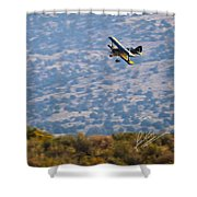 Rob Caster In Miss Diane, Friday Morning 5x7 Aspect Signature Edition Shower Curtain
