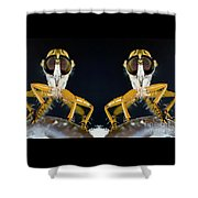 Robber Fly - Alien Visitors Shower Curtain