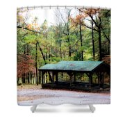 Robbers Shelter Shower Curtain